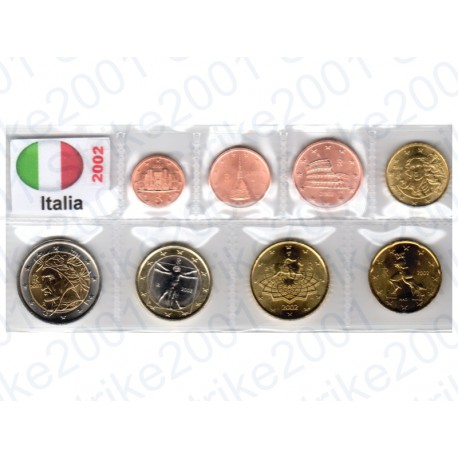 Italia - Blister 2002 FDC