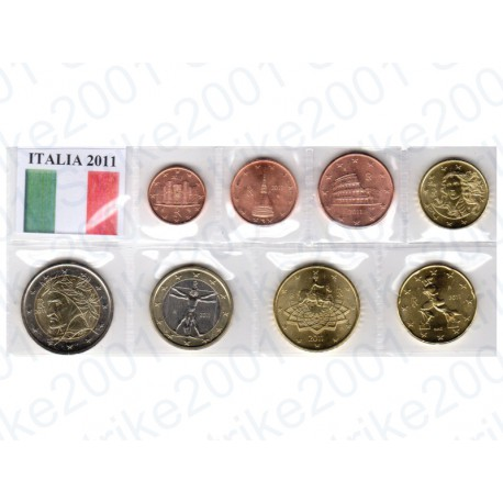 Italia - Blister 2011 FDC