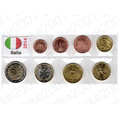 Italia - Blister 2014 FDC
