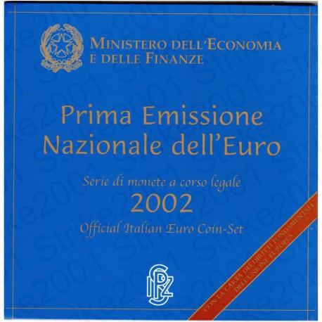 Italia - Divisionale Ufficiale 2002 FDC