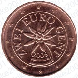 Austria 2006 - 2 Cent. FDC