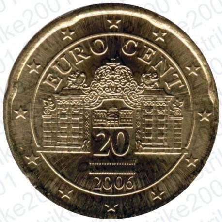 Austria 2006 - 20 Cent. FDC