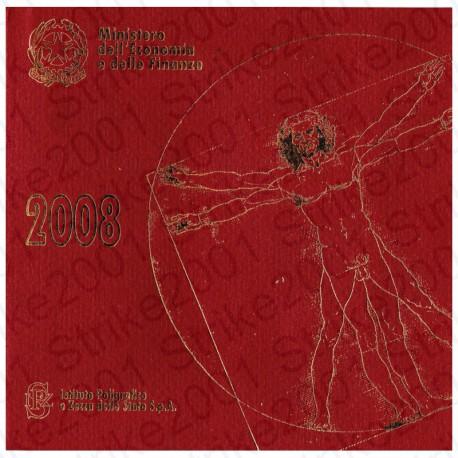 Italia - Divisionale Ufficiale 2008 FDC 8 Valori