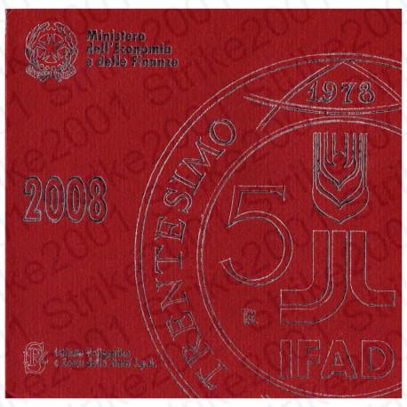 Italia - Divisionale Ufficiale 2008 FDC 9 Valori