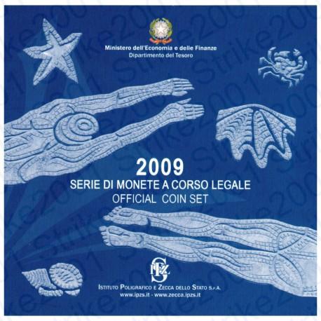 Italia - Divisionale Ufficiale 2009 FDC 10 Valori