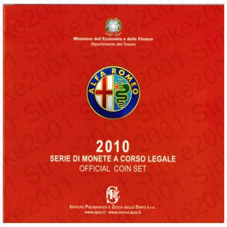 Italia - Divisionale Ufficiale 2010 FDC 10 Valori