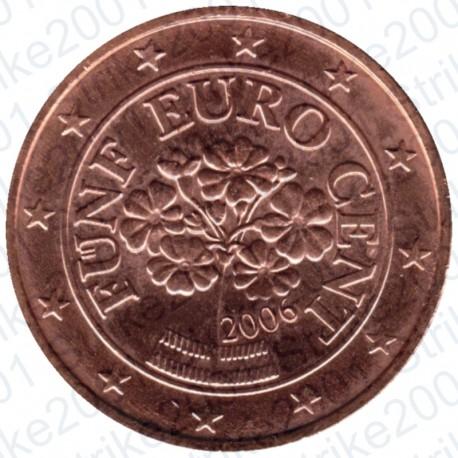 Austria 2006 - 5 Cent. FDC