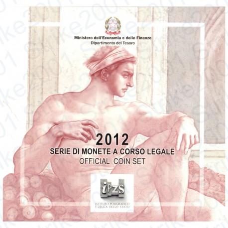 Italia - Divisionale Ufficiale 2012 FDC 10 Valori