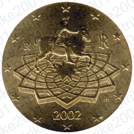 Italia 2002 - 50 Cent. FDC