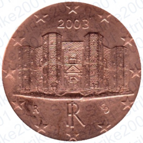 Italia 2003 - 1 Cent. FDC