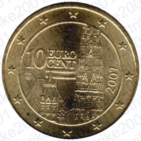 Austria 2007 - 10 Cent. FDC
