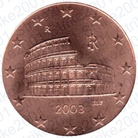 Italia 2003 - 5 Cent. FDC