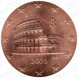 Italia 2005 - 5 Cent. FDC