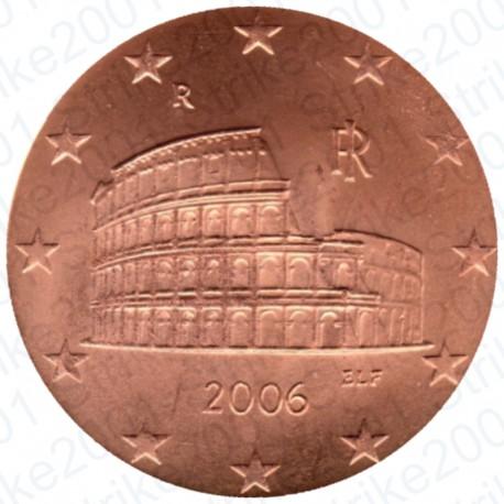 Italia 2006 - 5 Cent. FDC