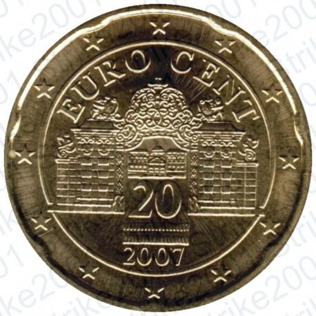 Austria 2007 - 20 Cent. FDC