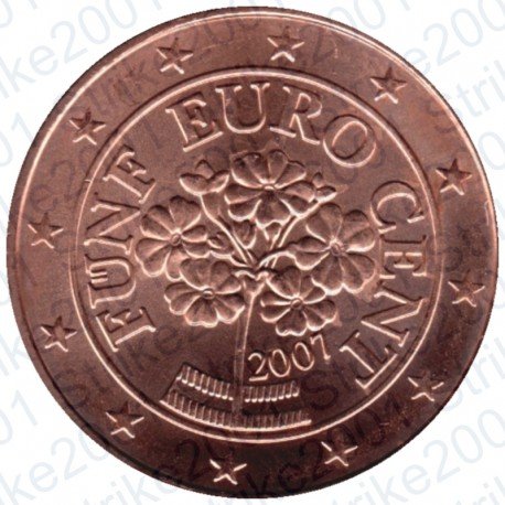 Austria 2007 - 5 Cent. FDC