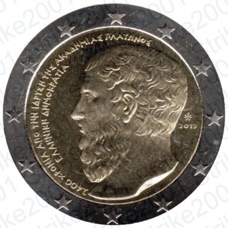 Grecia - 2€ Comm. 2013 FDC Platone