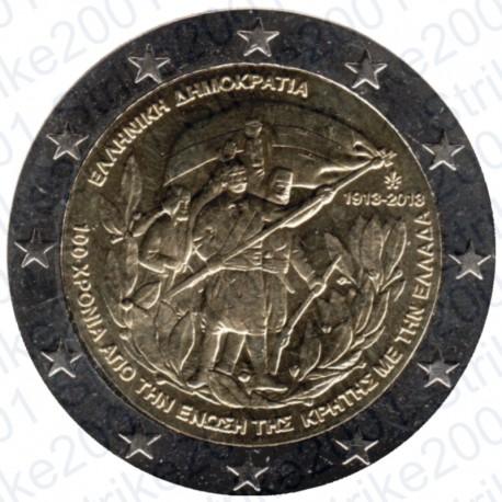 Grecia - 2€ Comm. 2013 FDC creta