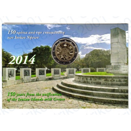 Grecia - 2€ Comm. 2014 Isole Ionie FOLDER