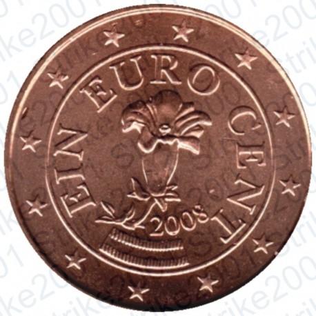 Austria 2008 - 1 Cent. FDC