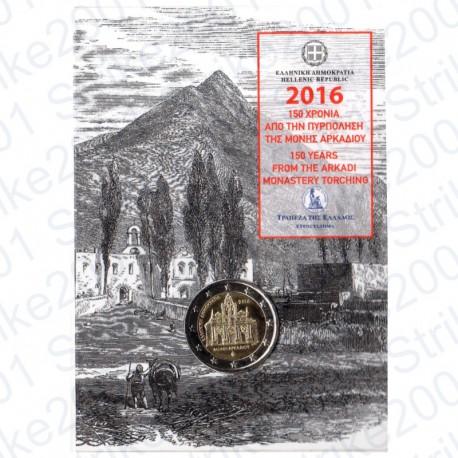 Grecia - 2€ Comm. 2016 Arkadi FOLDER