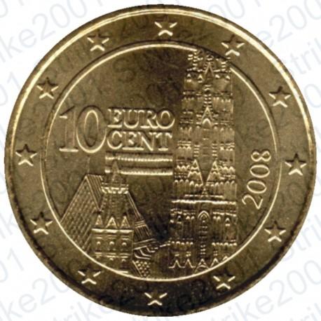 Austria 2008 - 10 Cent. FDC