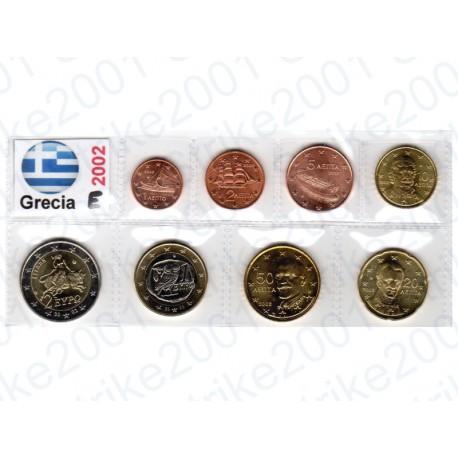 Grecia - Blister 2002 FDC Zecca Estera