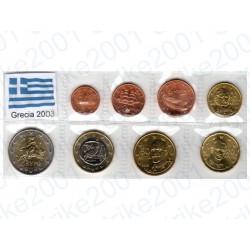 Grecia - Blister 2003 FDC