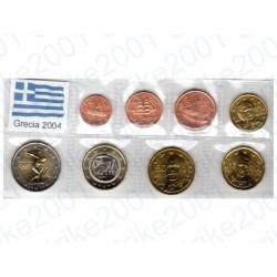 Grecia - Blister 2004 FDC 2 Euro Comm