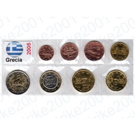 Grecia - Blister 2005 FDC