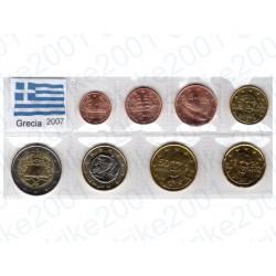 Grecia - Blister 2007 FDC T.R.