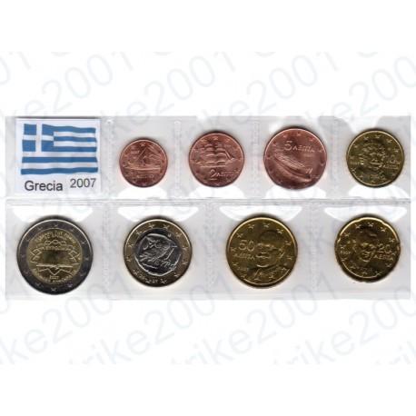 Grecia - Blister 2007 T.R. FDC