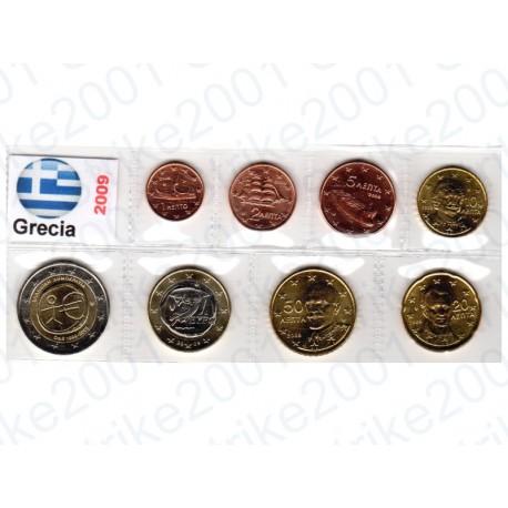 Grecia - Blister 2009 2 Euro Comm. FDC