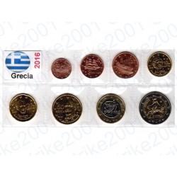 Grecia - Blister 2016 FDC