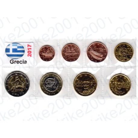 Grecia - Blister 2017 FDC