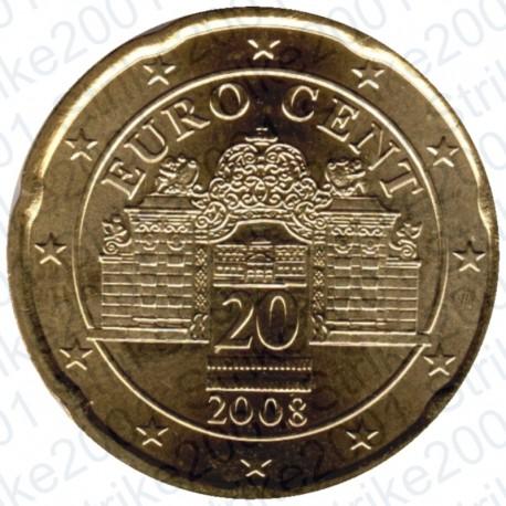 Austria 2008 - 20 Cent. FDC