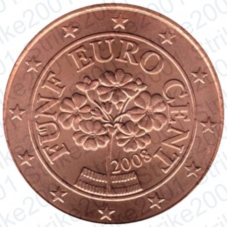 Austria 2008 - 5 Cent. FDC