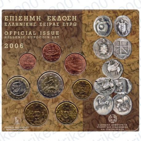Grecia - Divisionale Ufficiale 2006 FDC