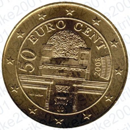 Austria 2008 - 50 Cent. FDC