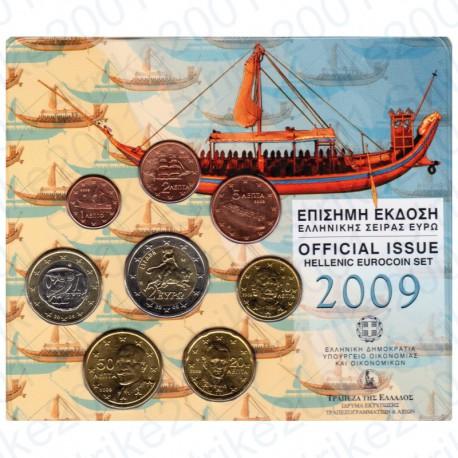 Grecia - Divisionale Ufficiale 2009 FDC