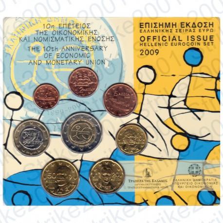 Grecia - Divisionale Ufficiale 2009 FDC Emu