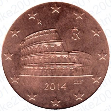 Italia 2014 - 5 Cent. FDC