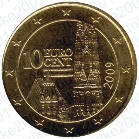 Austria 2009 - 10 Cent. FDC