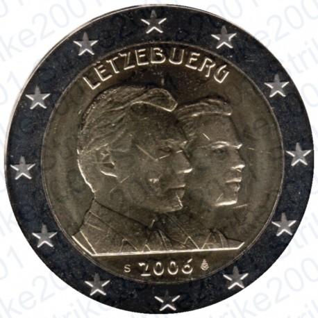 Lussemburgo - 2€ Comm. 2006 Granduchi Henry e Guillaume FDC
