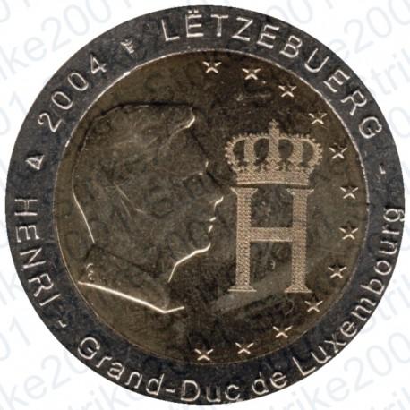 Lussemburgo - 2€ Comm. 2004 Granduca Henry FDC