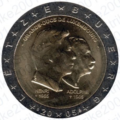 Lussemburgo - 2€ Comm. 2005 Granduchi Henry e Adolfo FDC