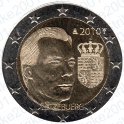 Lussemburgo - 2€ Comm. 2010 FDC Stemma Granducato