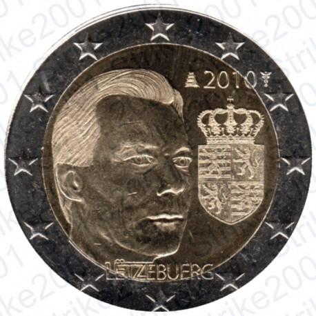 Lussemburgo - 2€ Comm. 2010 Stemma Granducato FDC