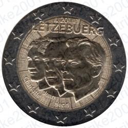 Lussemburgo - 2€ Comm. 2011 FDC Granduca Jean