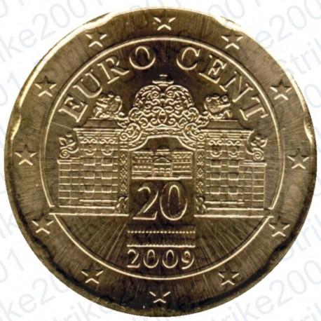 Austria 2009 - 20 Cent. FDC